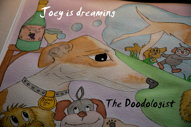 Joey is dreaming