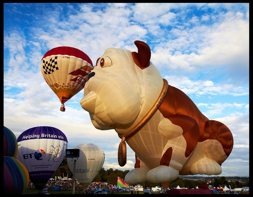 Bristol Balloon Fiesta 2011