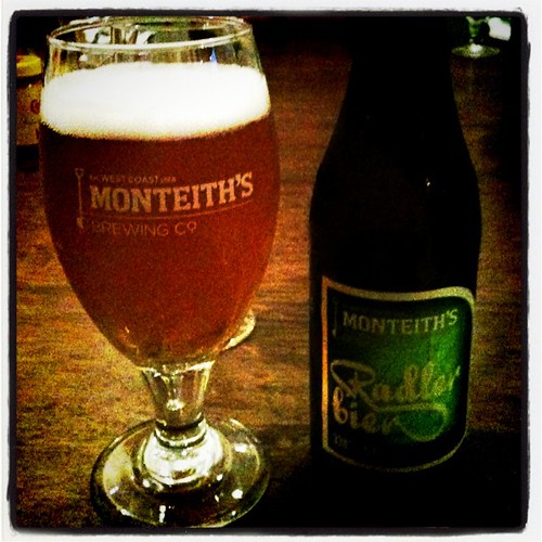 Monteith's Radler (fav NZ beer)