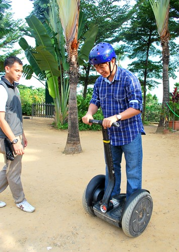 Segway fun with Dad