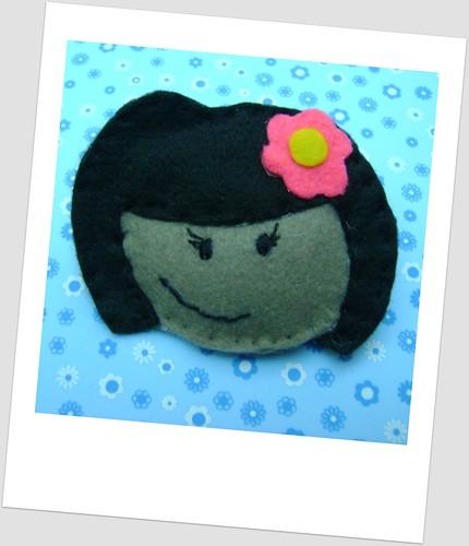 Minha mascote exclusiva versão feltro by Sweet by Carla
