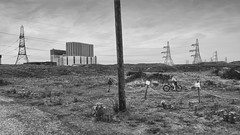 DUNGENESS CHILDHOOD (davemason) Tags: boy childhood bike dungeness on a