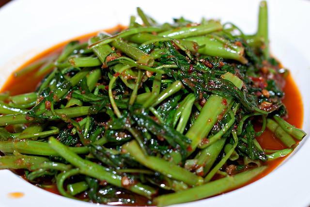 Stir-fried Kang Kong with Sambal @ $7