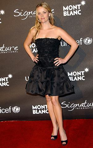 Reese Witherspoon´s little black dress