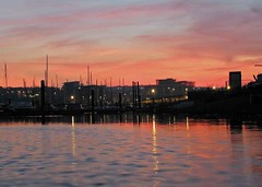 "Sunset over the  Marina • <a style=""font-size:0.8em;"" href=""http://www.flickr.com/photos/36398778@N08/6069387304/"" target=""_blank"">View on Flickr</a>"