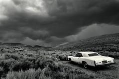 Eldorado (Farlakes) Tags: california usa classic car clouds cadillac eldorado thunderstorm bodie tstorm farlakes