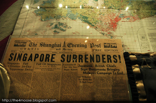 Imperial War Museum - Singapore Surrenders!