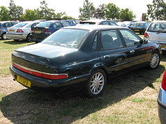 AUGUST 1996 FORD SCORPIO ULTIMA 2300cc P7GFB (Johns Car pictures and scans pages.) Tags: show ford st 21 leicester 1996 21st august scorpio 08 ultima 2011 oadby 2300cc p7gfb