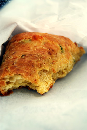 Flour - Cheddar and Scallion Scone
