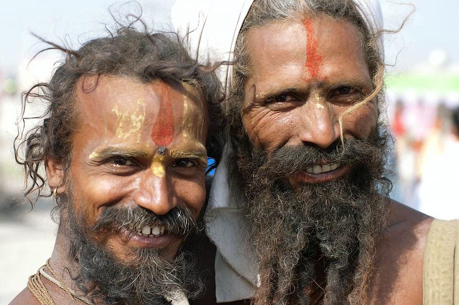 садху Нага-баба, Кумбхамела 2010 © Kartzon Dream - авторские путешествия, авторские туры в Индию, тревел фото, тревел видео, фототуры