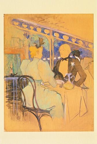 ★ポストカード③ロートレック「アンバサドゥールの粋な人々」1893年 by Poran111