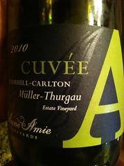 2010 Anne Amie Müller-Thurgau Cuvée A