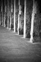 Meenakshi Amman Temple Pillars