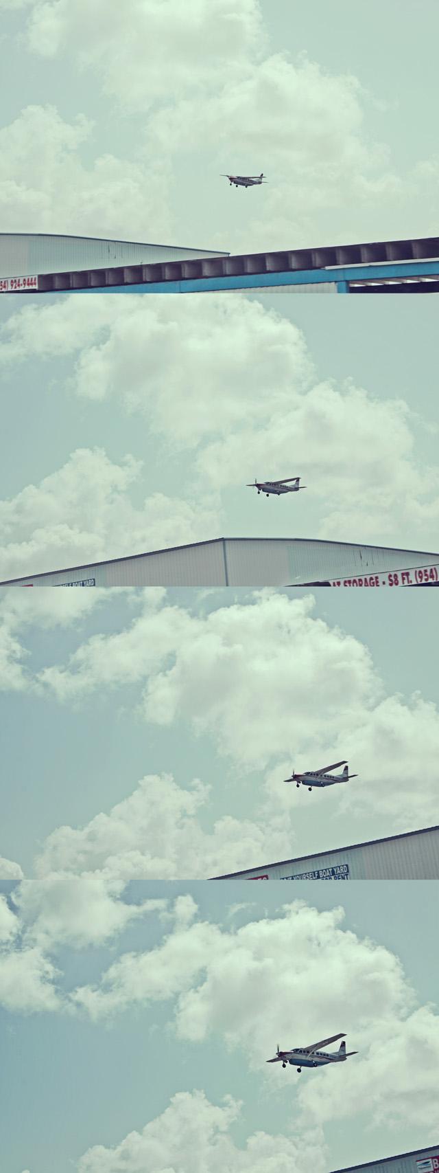Fort Lauderdale airport landing