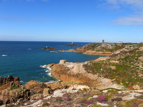 Looking back to La Corbiere