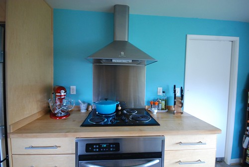 The Finished Kitchen Accent Wall