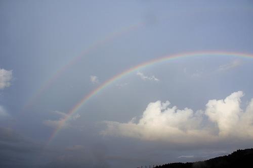 二重の虹@奈良県-05