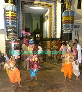 Pralmbhasura Badha, Chapter of Krusna Lila at Jagnnath Temple