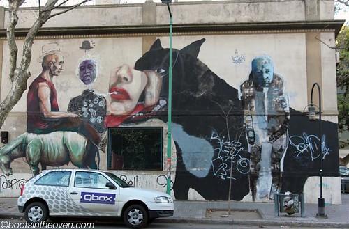 Sampling of BA's street art