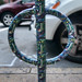 Decorative Bike Rack on Newbury Street