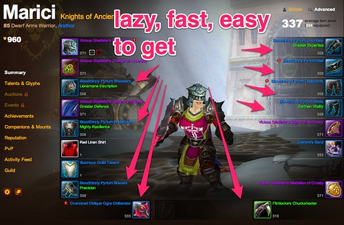 Marici @ Arathor - Game - World of Warcraft