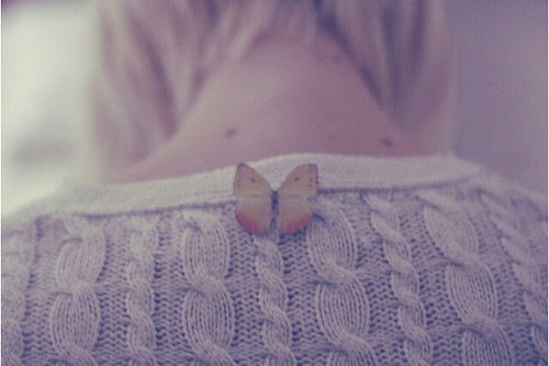 The butterfly girl.