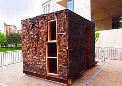 Resistance is Futile (ramjetgr) Tags: wood olympus burnt grandrapids e30 2011 borgcube artprize