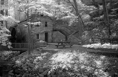 Rice Grist Mill ~ In Infrared (Uncle Phooey) Tags: mill ir rice tennessee missouri infrared norris gristmill grist norristennessee ricegristmill
