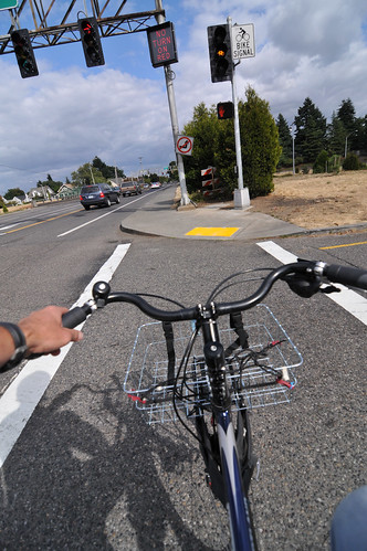 New bike lanes on N Rosa Parks Way-24