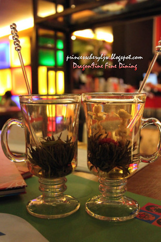 Dragon9ine flower tea