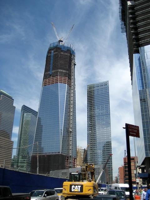 World Trade Center progress - August 31, 2011