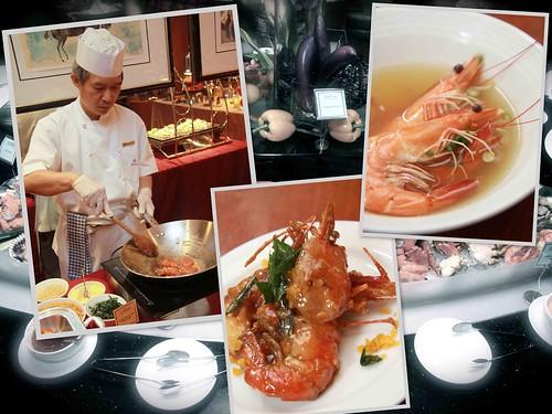 Chinese-styled prawns