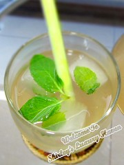 Aromatic Lemongrass Mint Tea Recipe (Blackswanst) Tags: food ice home cooking cuisine diy drink cook mint eat thai tips recipes lemongrass cooling refresh rejuvenate