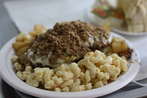Cheeseburger Plate at Nick Tahou Hots