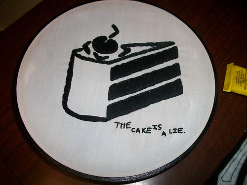 The Cake is a Lie!