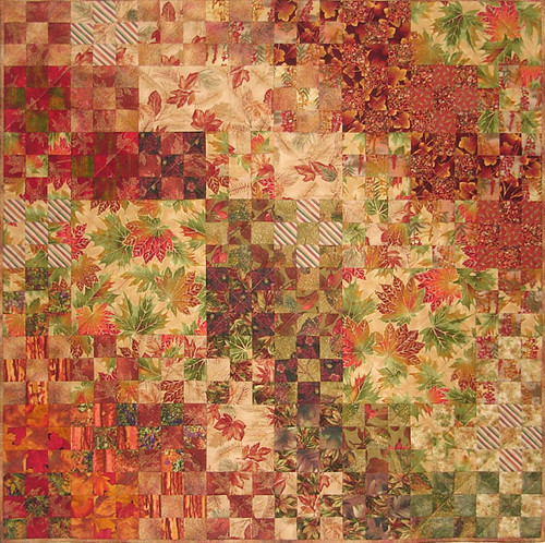 Autumn Nine-Patch small - Jean Jones