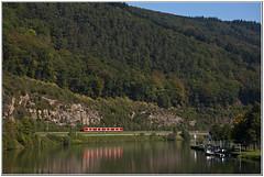 Regionalbahn am schnen Neckar (Berliner_77) Tags: deutschebahn trainspotting neckar hirschhorn neckarschleife dbregio baureihe425