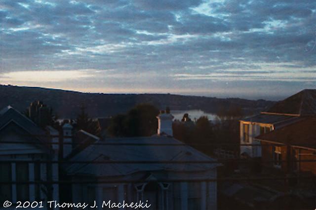 Sunrise, Otago Bay, Dunedin NZ