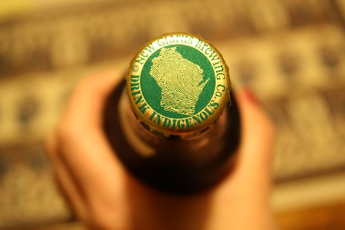 New Glarus beer bottle cap