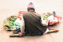 Vegetable Seller (Sunanda Chandry Koning) Tags: travel nepal color digital canon photography eos photo asia 300d powershot kathmandu patan 2009 canoneos300d bhaktapur travelphotography lalitpur april2009 sx100 may2009