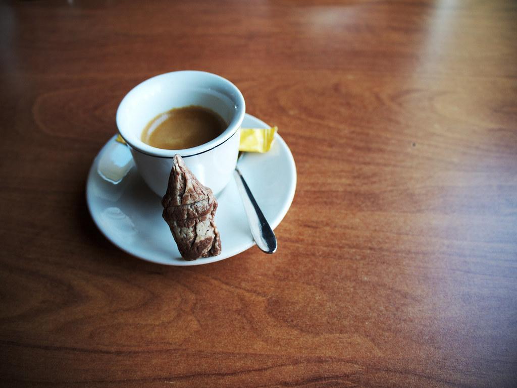 Espresso in Galata tower