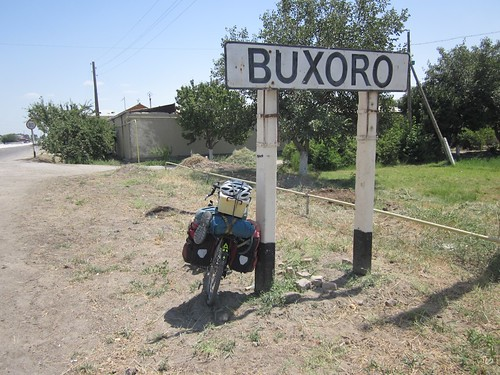 Arrived in Buxoro!