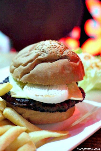lamb burger