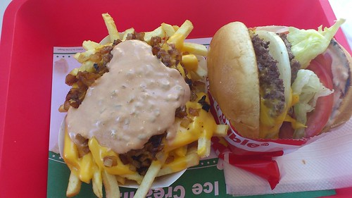 Fries, animal style....