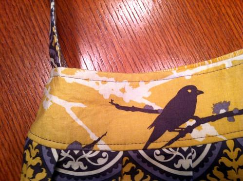 Madeleine: top-stitching