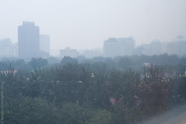 Beijing summer rainstorm