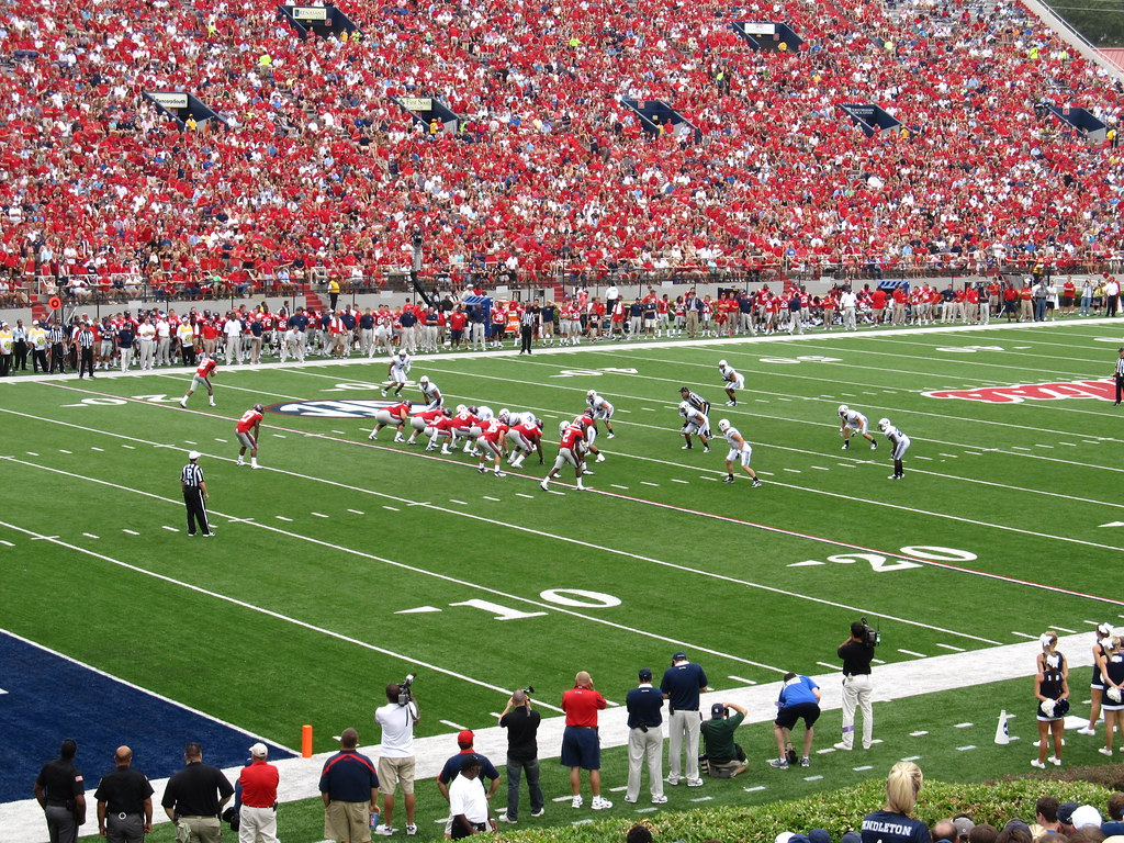BYU Cougars 14, Ole Miss Rebels 13, Vaug by Ken Lund, on Flickr