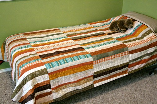 Jack's big boy bed quilt