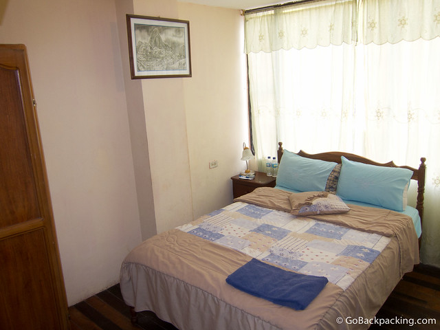 Private room in Hostal Erupcion