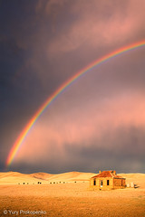 Storm and Rainbow (-yury-) Tags: house storm abandoned clouds farmhouse landscape rainbow ruin australia homestead sa southaustralia burra